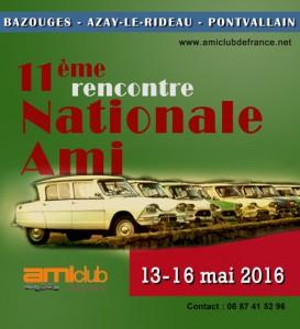 11e Nationale Ami 2016 en Sarthe