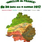 12e Nationale Amiclub de France 2017 en Dordogne