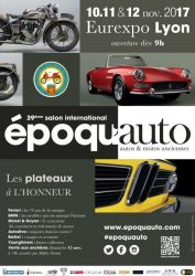 Salon Epoqu'auto Lyon 2017