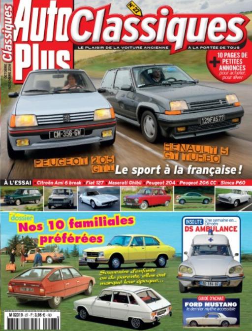 Auto Plus Classique oct 2016