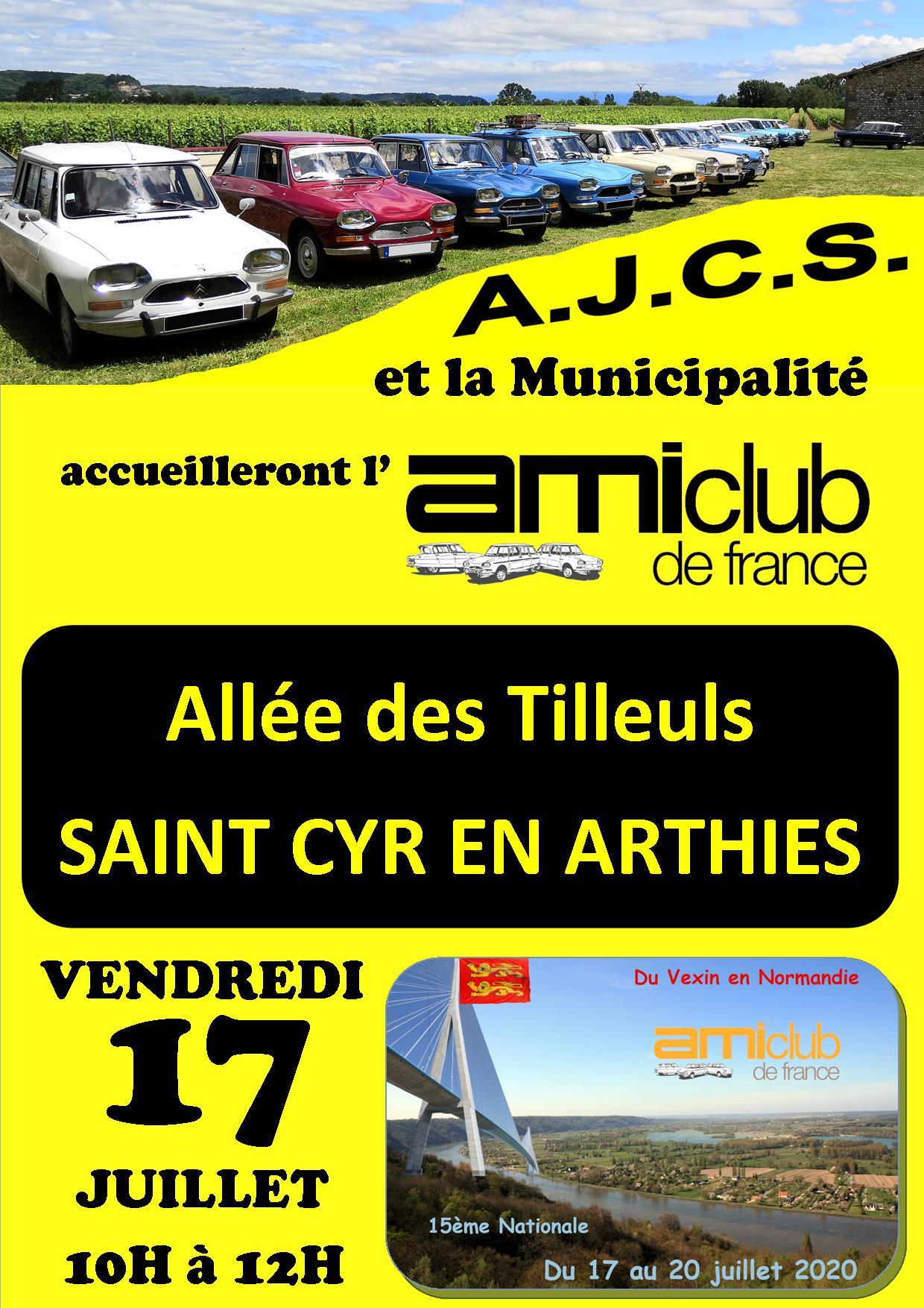 affiche AJCS-AmiClub