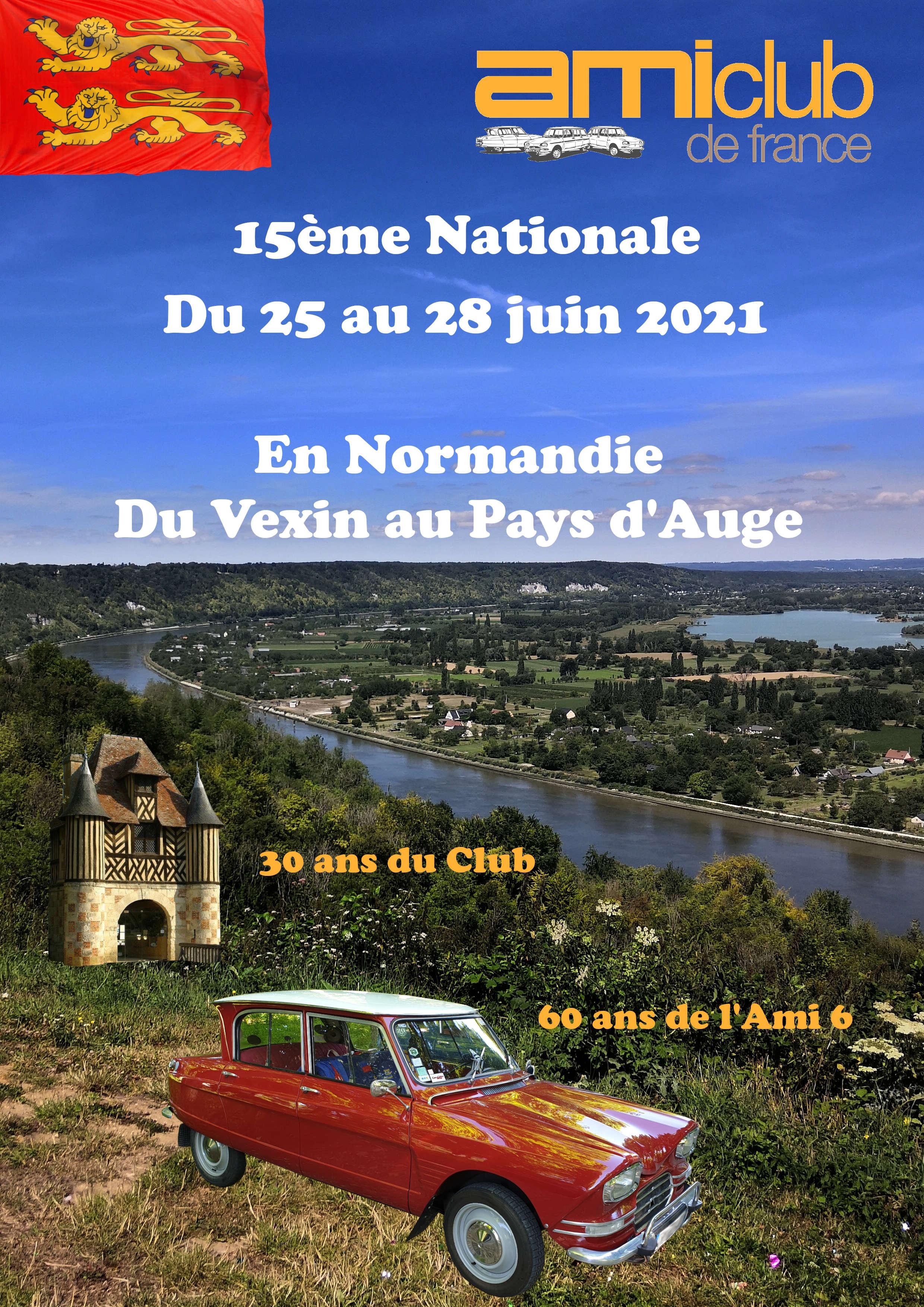 Affiche de la Nationale Ami 2021