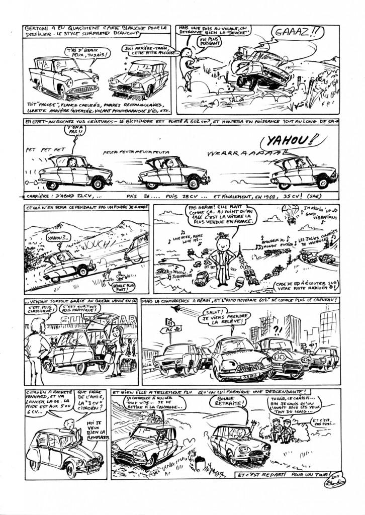 planche 2 - Les 50 ans de l'Ami 6 et l'évolution du modèle