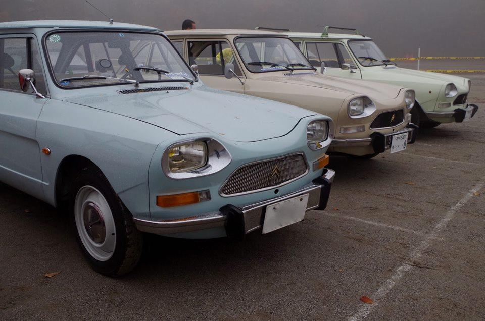 Trois Ami 8 japonaises